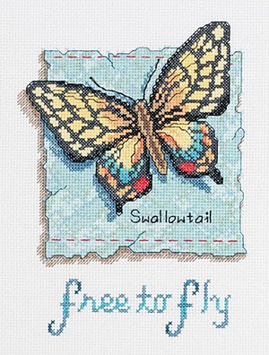 Free to Fly Counted Cross Stitch Kit
