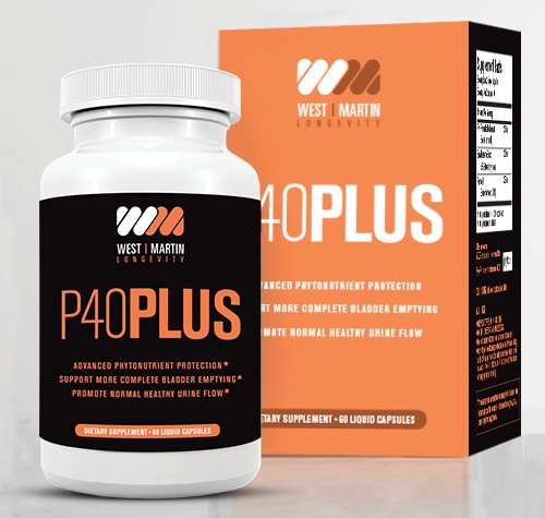 P40Plus Supplement Urination Synergistic Sitosterol product image