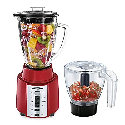 Oster BCCG08-RM1-000 8-Speed 6-Cup Blender, Red