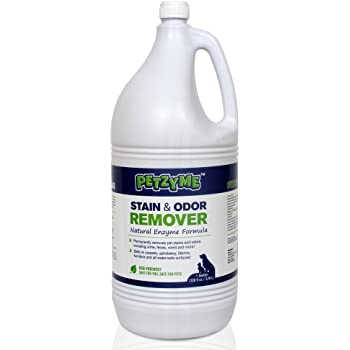 petzyme pet stain remover odor eliminator enzyme cleaner for dogs cats urine feces and more