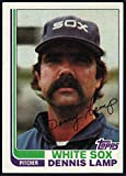 Baseball MLB 1982 Topps #622 Dennis Lamp White Sox