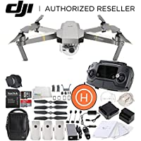 DJI Mavic Pro Platinum FLY MORE COMBO Collapsible Quadcopter Landing Pad Bundle