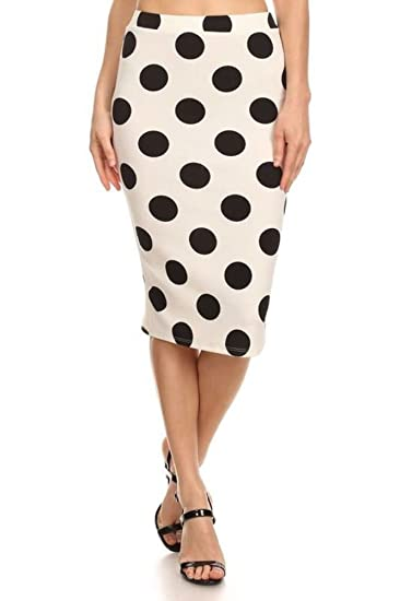 71ec7a2859d Polka Dot Midi Skirt at Amazon Women s Clothing store