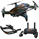 MightySkins Skin For DJI Max Coverage - Eagle Nebula | Protective, Durable, and Unique Vinyl Decal wrap cover | Easy To Apply, Remove, and Change Styles | Made in the USA