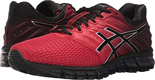 ASICS Men's Gel-Quantum 180 2 Running Shoe, Classic Red/Black/Silver, 10.5 Medium US
