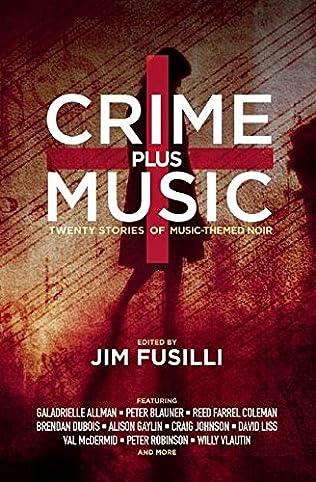 book cover of Crime Plus Music