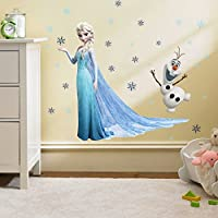 Kibi Stickers Infantiles Frozen Adhesivos Pared Decorativos Pegatinas