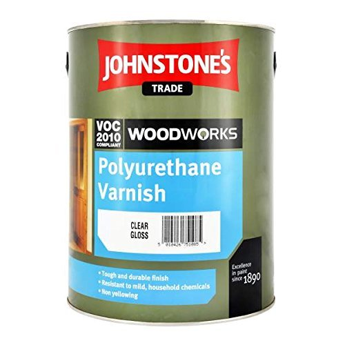 Johnstones Polyurethane Varnish Satin Clear Paint 750ML