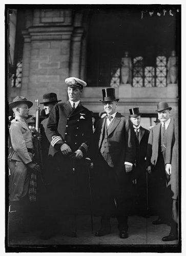 Photo: DANIELS,JOSEPHUS. SECRETARY OF THE NAVY,1913-1921. WITH PRINCE ALEX OF - Denmark Alex