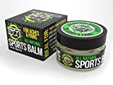 Zen All Natural Sports Balm - To relieve Aches & Pains related to: Sports Injuries, Backaches, Minor Arthritis, Bursitis, Sore Muscles, Joint Pain, Leg Cramps, Sprains & Strains