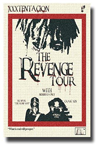 - Xxxtentacion Poster Concert Promo 11 x 17 inches Revenge Tour