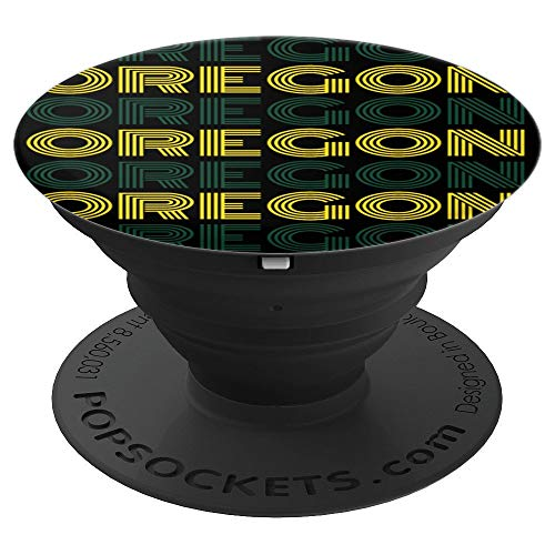 - State of Oregon Fun Fan Cool Sports Adults Kids - PopSockets Grip and Stand for Phones and Tablets