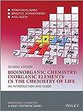 Bioinorganic Chemistry -- Inorganic Elements in the Chemistry of Life 2nd Edition