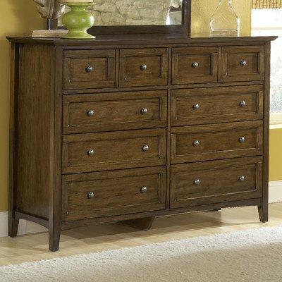 Modus Furniture 4N3582 Paragon 8-Drawer Dresser, Truffle from Modus Furniture