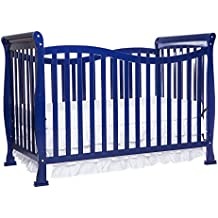 Dream On Me Violet 7-in-1 Convertible Life Style Crib, Royal Blue, 44 Pound