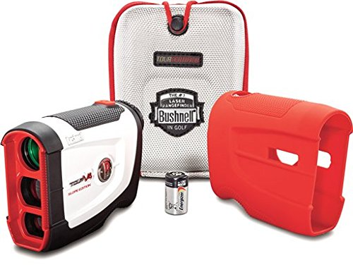 Bushnell Tour V4 Jolt Rangefinder Slope Patriot Pack
