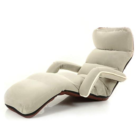JiaQi Ajustable Plegable sillón Perezoso,Japonés Perezosa ...