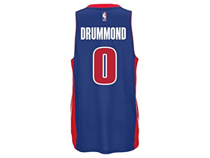 Image Unavailable. Image not available for. Color  adidas NBA Detroit  Pistons Andre Drummond Blue Swingman Jersey ... bb0f0d9e7