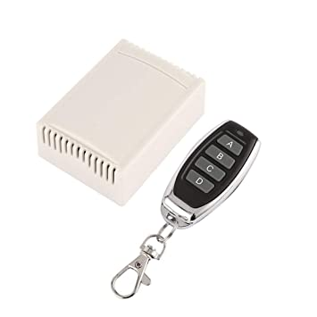 Sanzhileg 433MHz Interruptor de Control Remoto inalámbrico ...