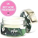 Best Cystic Acne Treatments - Safisa Acne Spot Treatment Face Cream - Rich Review