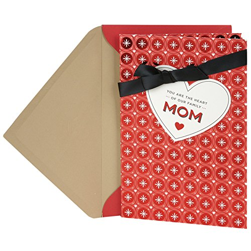 Hallmark Valentine's Day Greeting Card for Mother (Circles and Crosses)