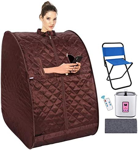 Radiant Saunas SA7001 1-Person Sauna Seat Cushion, One Size, Brown