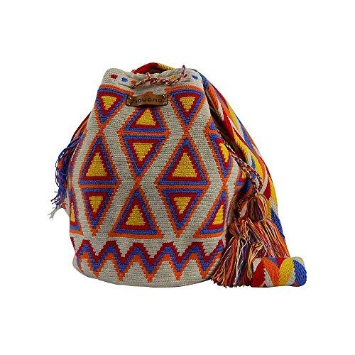 CUMBIA - Beuteltasche, Bucket Bag, Boho chic Tasche, Umhängetasche, Schultertasche, Fashion, Damen, Woman, Bag, Hippie, Shopper, Handtasche