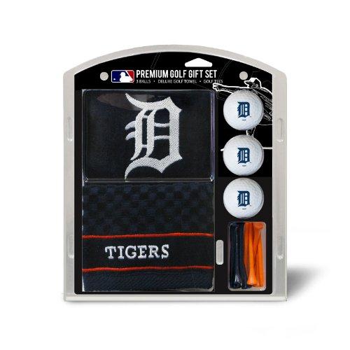 Team Golf MLB Detroit TigersEmbroidered Towel Gift Set