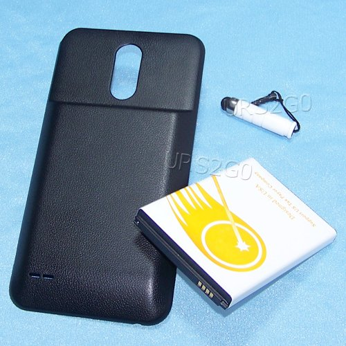 new arrival 622dc 6f537 New LG Stylo 3 Plus Extended 8000mAh Battery & Back Cover for LG Stylo 3  Plus TP450 T-Mobile with Special Accessory (See Picture) Specifically for  LG ...