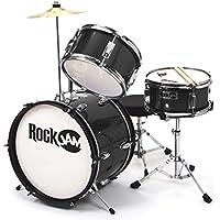 RockJam RJ103-BK 3-Pc. Junior Drum Set