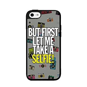 Let Me Take A Selfie - 2-Piece Dual Layer Phone Case Back Cover iPhone 5 5s
