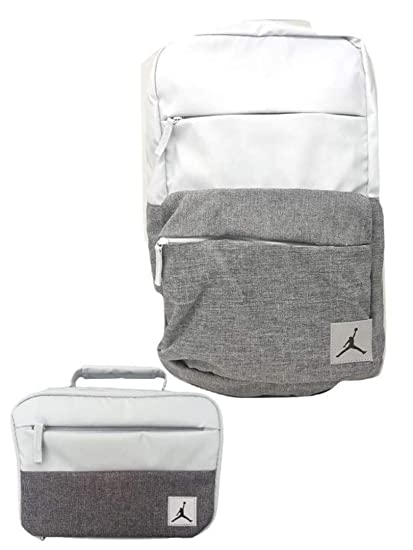 ee4f05971925 Image Unavailable. Image not available for. Color  Jordan Brand Jumpman  Backpack   Matching Insulated Lunch Tote ...