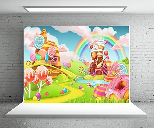 Rainbow Background - 3