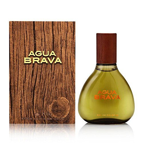 Antonio Puig Agua Brava Eau De Cologne Spray for Men, 3.4 Ounce (Tester Edc Spray)