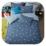 Fashion New Style of England Imitation Cotton Wool Sheets Bed Sets Pillowcases 4pcs/3pcs bedspreads Home Textiles Bedding Soft,6,Twin 3pc 150x200cm