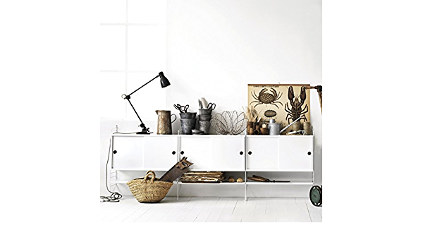 String Sistema Estantería con Aparador color blanco: Amazon ...