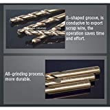 1MM-10MM Cobalt High Speed Steel Twist Drill Hole