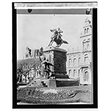 Vintography 16 x 20 Gallery Wrapped Frame Art Canvas Print of O'Higgins, Buenos Aires, Argentina 1925 National Photo Co 54a