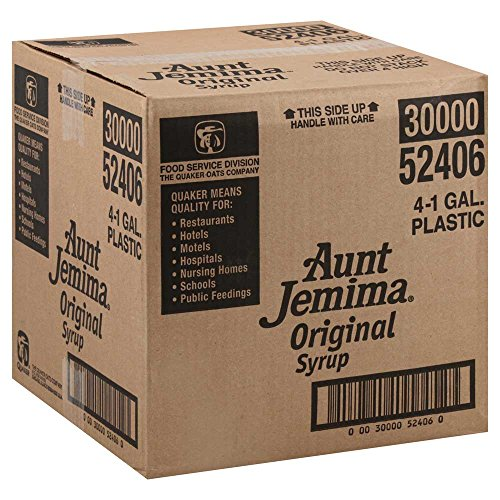 Aunt Jemima Syrup Regular, 1 Gallon -- 4 Case by Aunt Jemima (Image #1)
