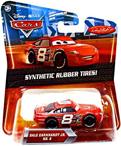 Disney / Pixar CARS Movie Exclusive 155 Die Cast Car with Synthetic Rubber Tires Dale Earnhardt Jr.