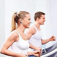 Pajuva Wireless Headphones, In-Ear Earpieces, Earphones, Bluetooth Earbuds - workout