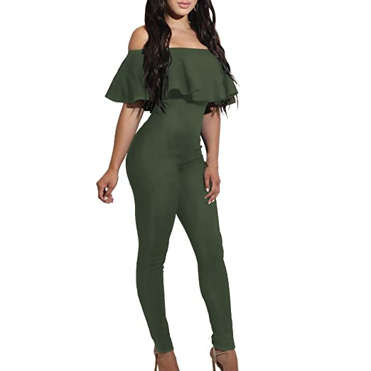 Rompers Women Summer Beach Jumpsuit Clubwear Bodycon Playsuit Romper Short Pants Trouser Women V-neck Green Romper Ideal Gift For All Occasions