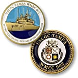 Coast Guard Cutter Tampa Challenge Coin by Northwest Territorial Mint
