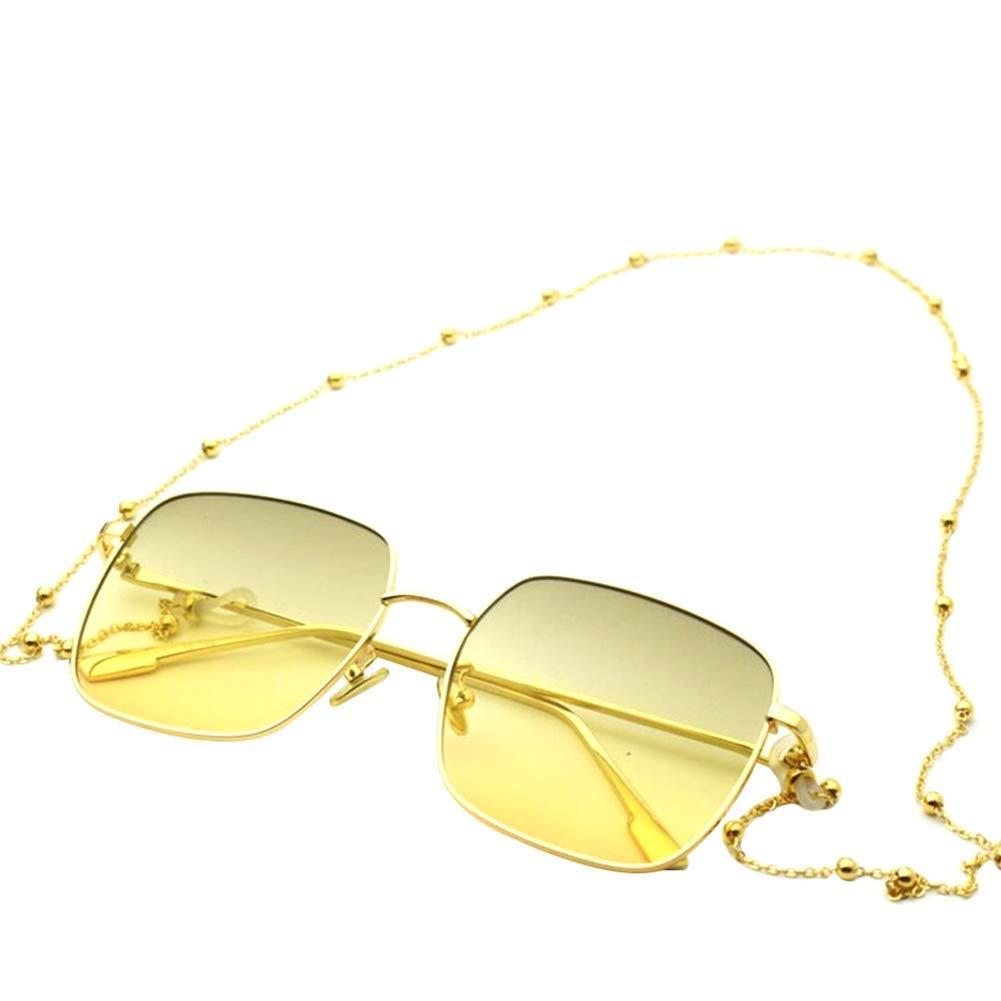 Gold 1X Toruiwa Brillenkordel Brillenband Brillenkette mit Gummikopf aus Kupfer f/ür Brillen Sonnenbrillen Lesebrille Sportbrille 80cm