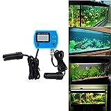 Portable 2 in 1 Water Quality Digital pH / TDS Meter 0~19.99ppt Mini Tester Hydrophonics Aquarium