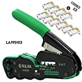 LAOA Crimping Plier Network Tools Portable Multifunction Cable Stripper Wire Cutter Cutting Crimping Pliers Terminal Tool Light with more