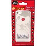 藤本電業 ディズニー iPhone+ クリアデザインケース for iPhone5s/5 ミッキー2 J-I5S-DP21