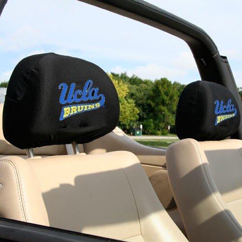 Headrest Covers Ncaa (NCAA UCLA Bruins 2-Pack Headrest Covers)