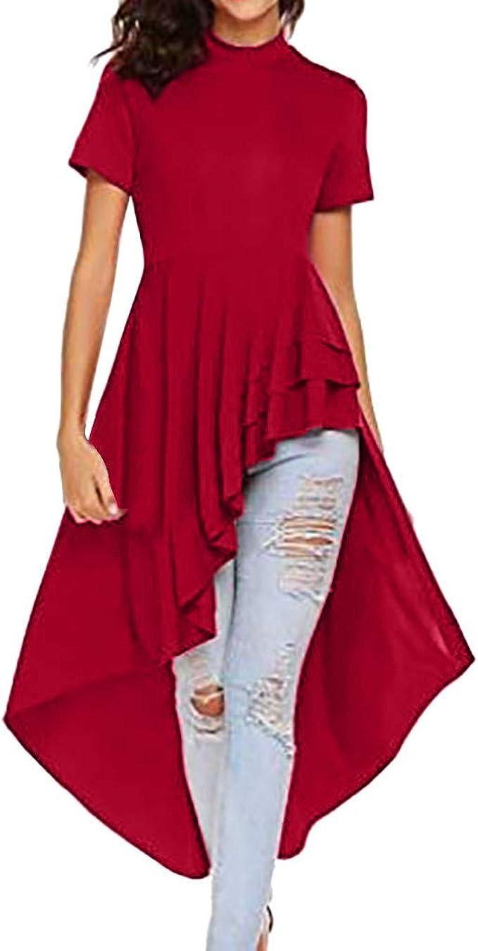 Vestido Sólido Vestido De Noche con Frenillo Cuello Redondo Estilo ...