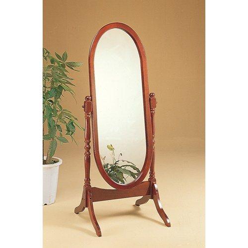 Monarch Specialties Oval Cheval Mirror ()